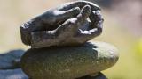 Stone Hands Sculpture
