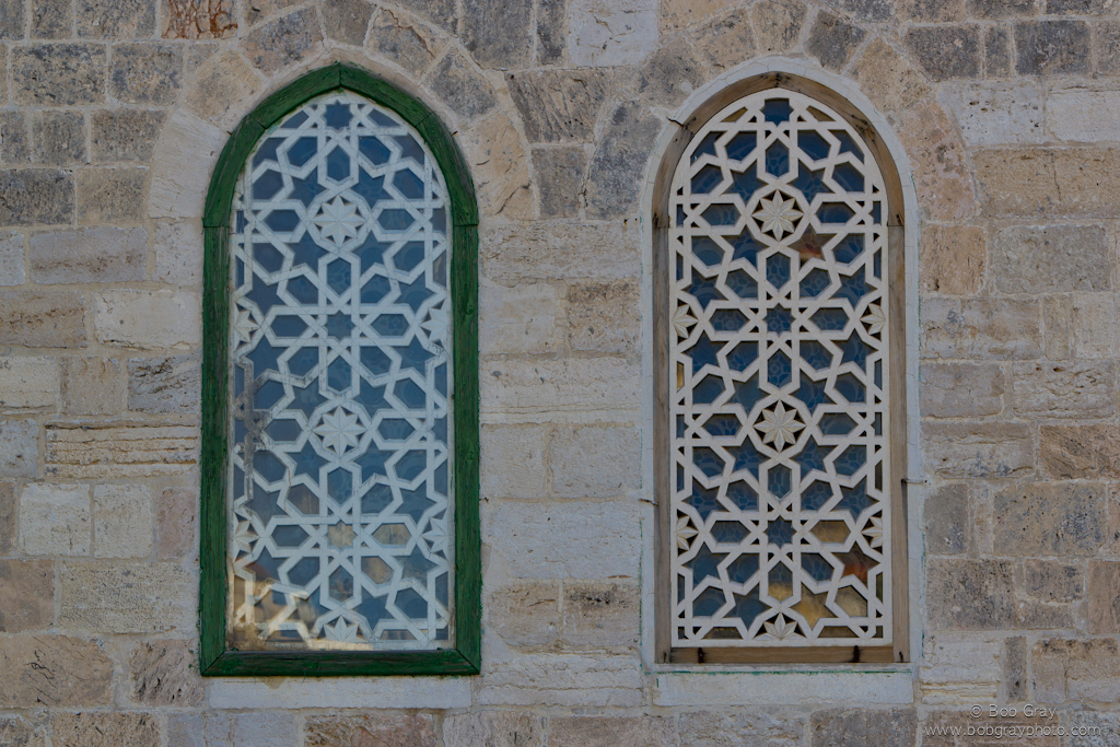 Windows on Al -Aqsa Mosque