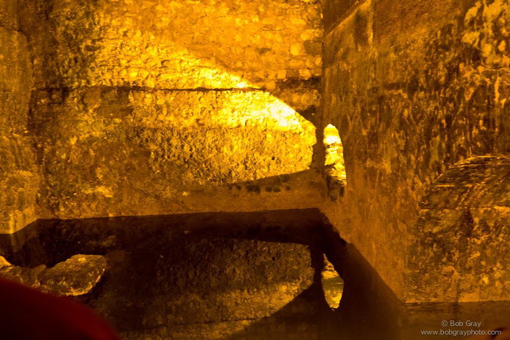 Water cistern in the Western Wall Excavations