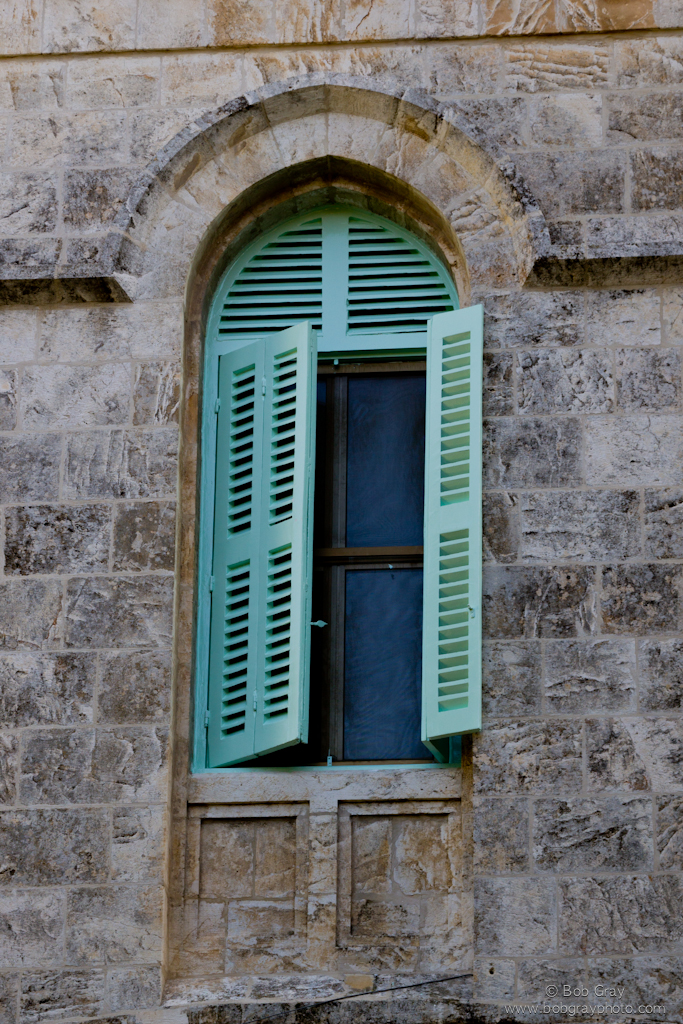 Window on the Via Dolorosa 1