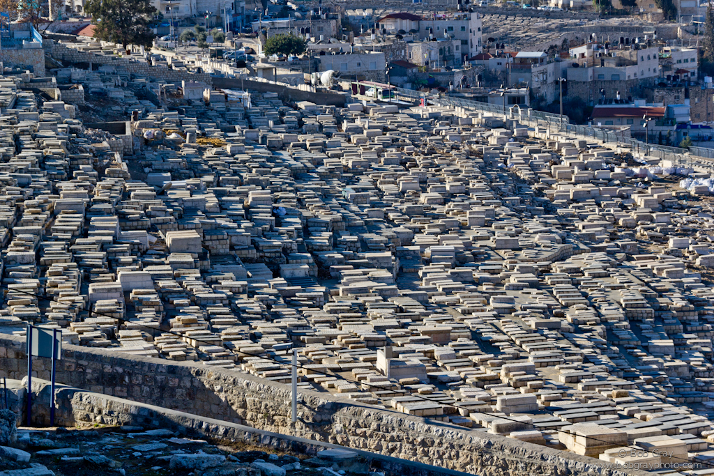Jewish cemetary on Mount of Olives 1