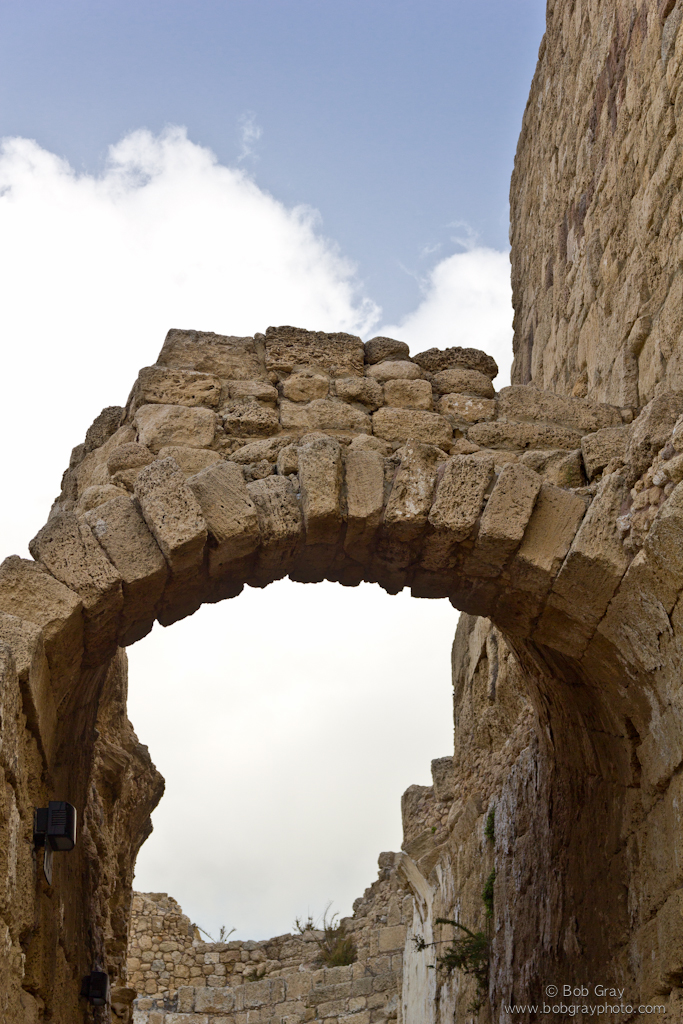 Arch at Caesarea Maritima