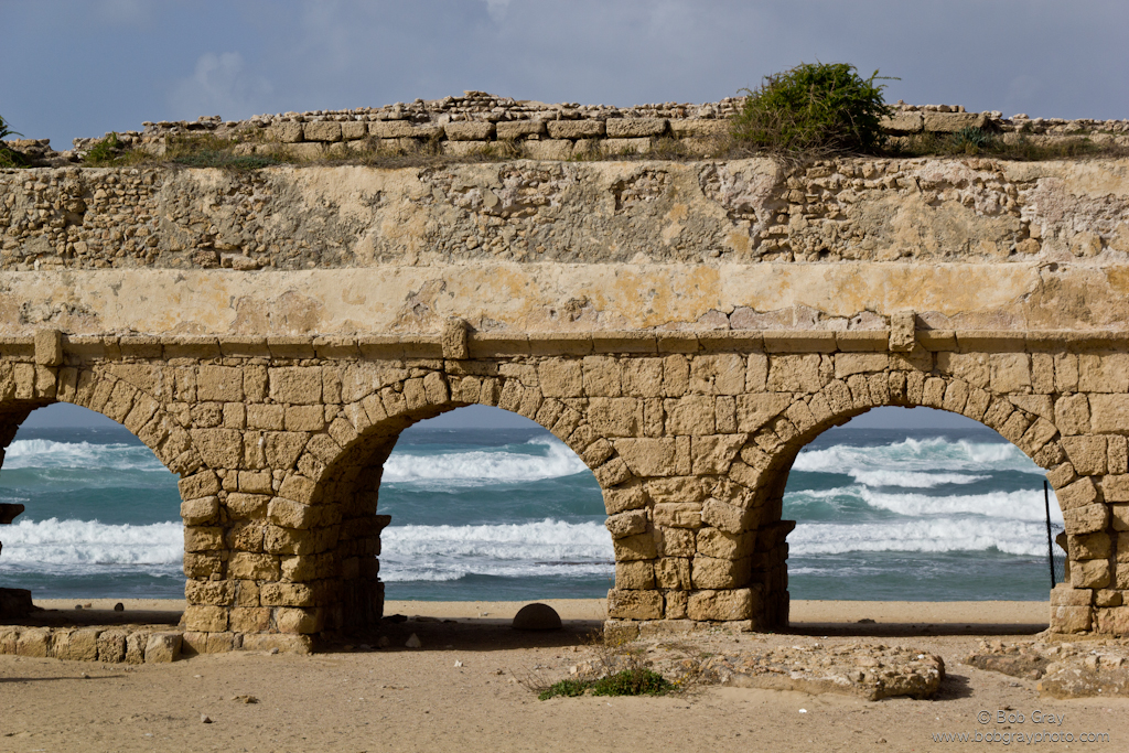 Aquaduct at Caesarea Maritima