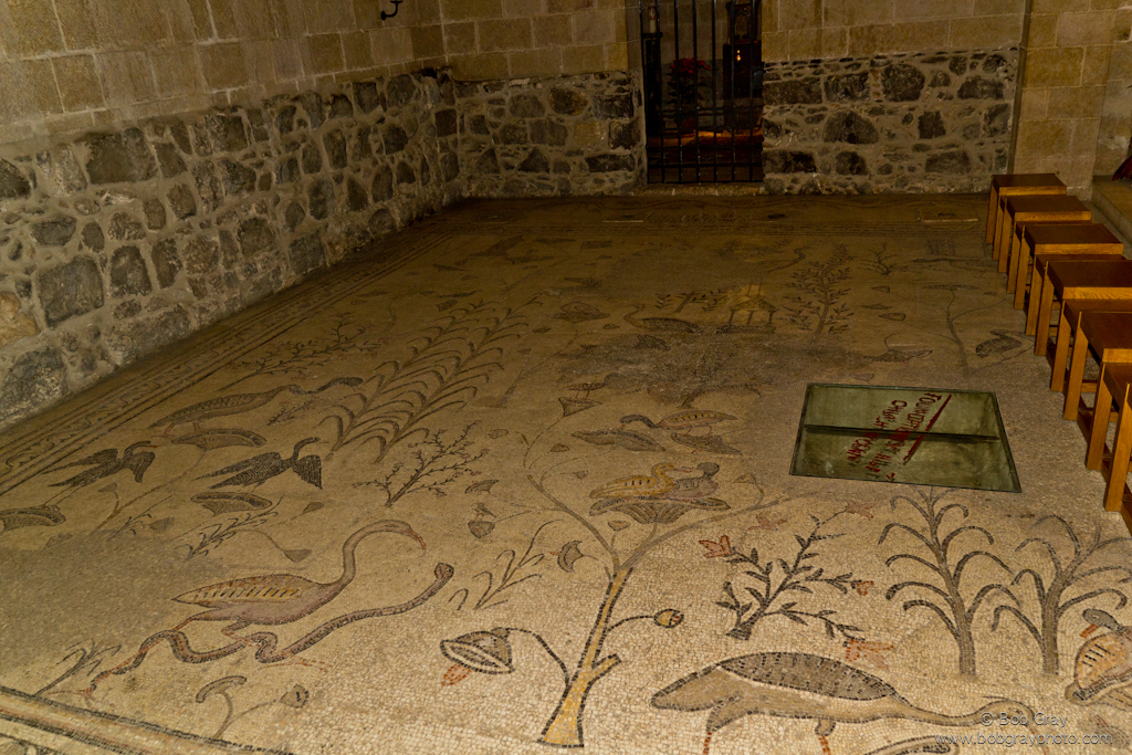 Mosaics, Church of Heptapegon