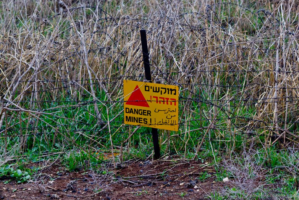 Danger Mines !