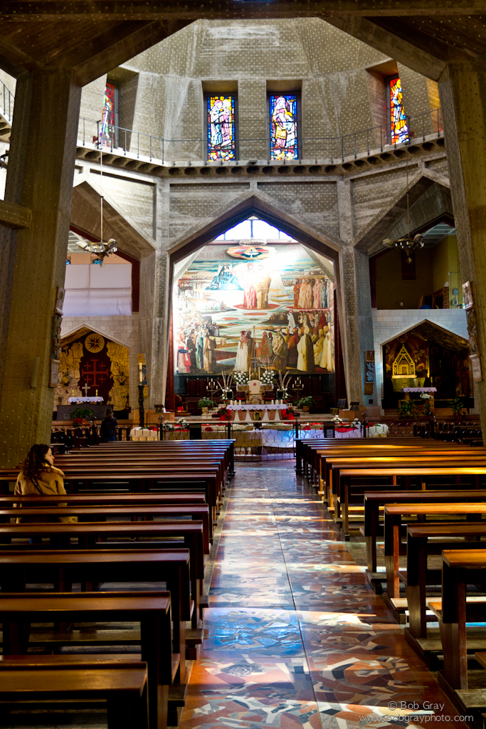 Interior, Church of the Annunciation