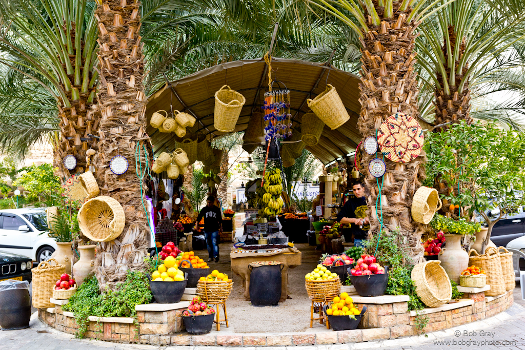 Fruit market in Jericho