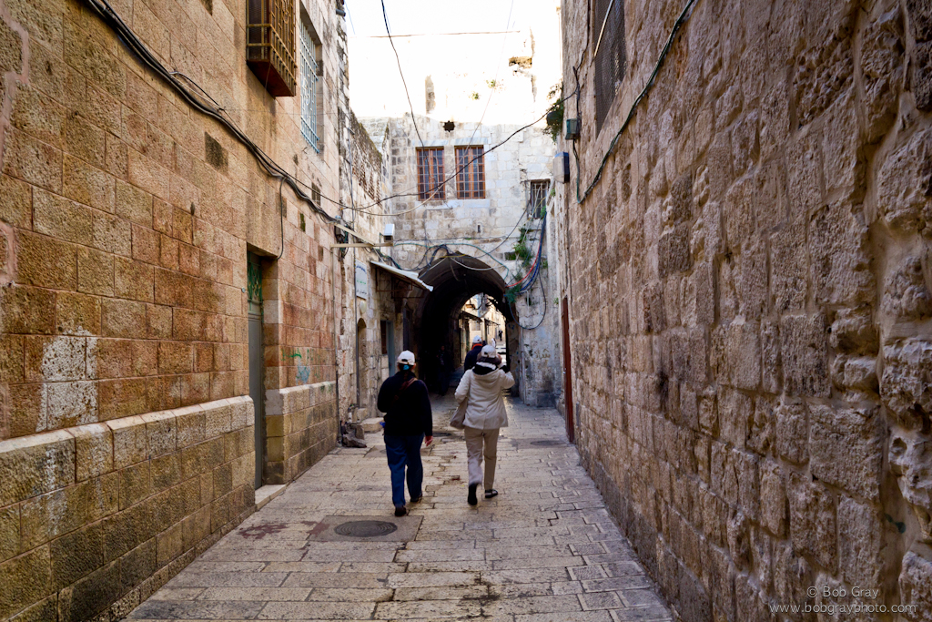 Narrow Street in Jerusalem