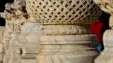 Column capitals at Al-Aqsa mosque