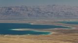 Dead Sea & Mountains of Moab from Masada 2