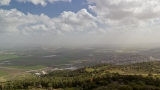Valley of Megiddo from Mount Carmel
