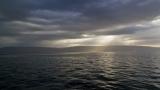 Sunbeams on the Sea of Galilee 1