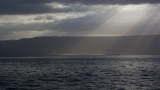 Sunbeams on the Sea of Galilee 2