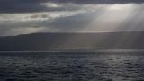 Sunbeams on the Sea of Galilee 2