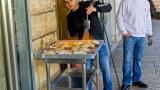 Grilling chicken in Nazareth