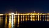 Portsmouth Navy Yard from Prescott Park