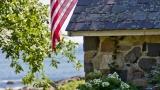 Stone cabin at Brave Boat Harbor Farm 2