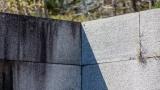 Granite wall and shadows