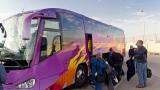 Barney the purple bus