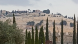 Mount of Olives from Southern Steps