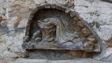 Sculpture of Jesus praying in the Garden