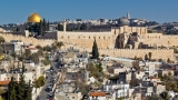 Dome of the Rock and Al Aqsa Mosque from Caiaphas\' house