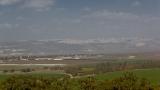 Nazareth from Tel Megiddo