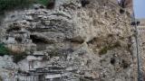 Golgotha rock near Garden Tomb
